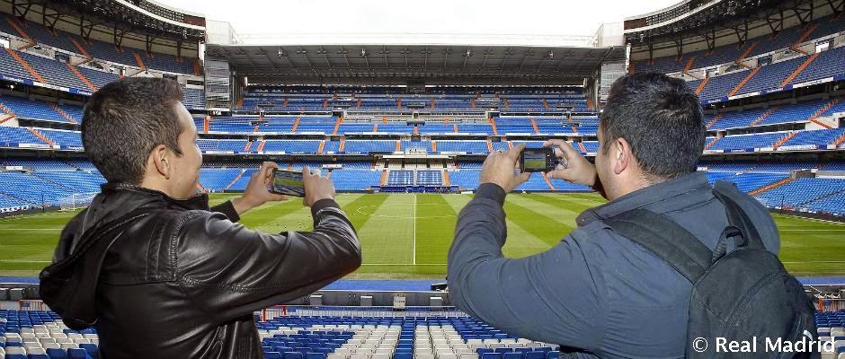estadio del Real Madrid