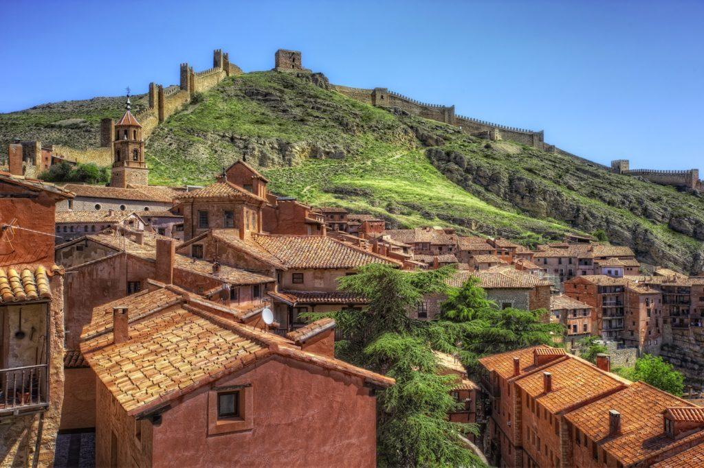 albarracin pueblo medieval de espana