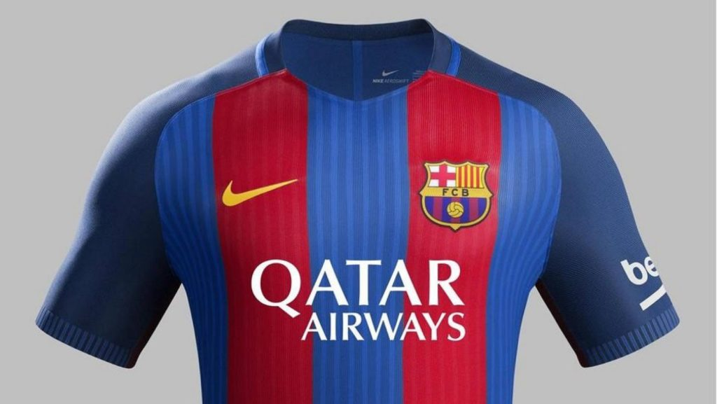Qatar Airway patrocinador f c barcelona