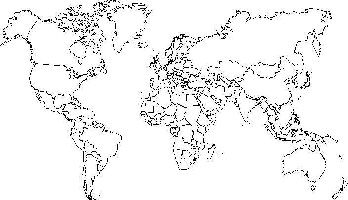mapamundi mudo