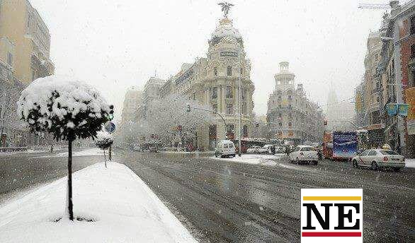 nieve madrid